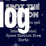 I Spy the International Space Station