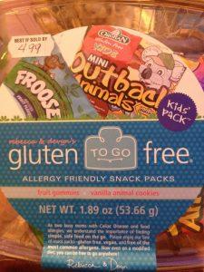 Gluten Free to Go Snacks at Busch Gardens