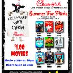 Chick-fil-A Summer Fun Flicks Flyer