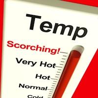 Temperature is rising