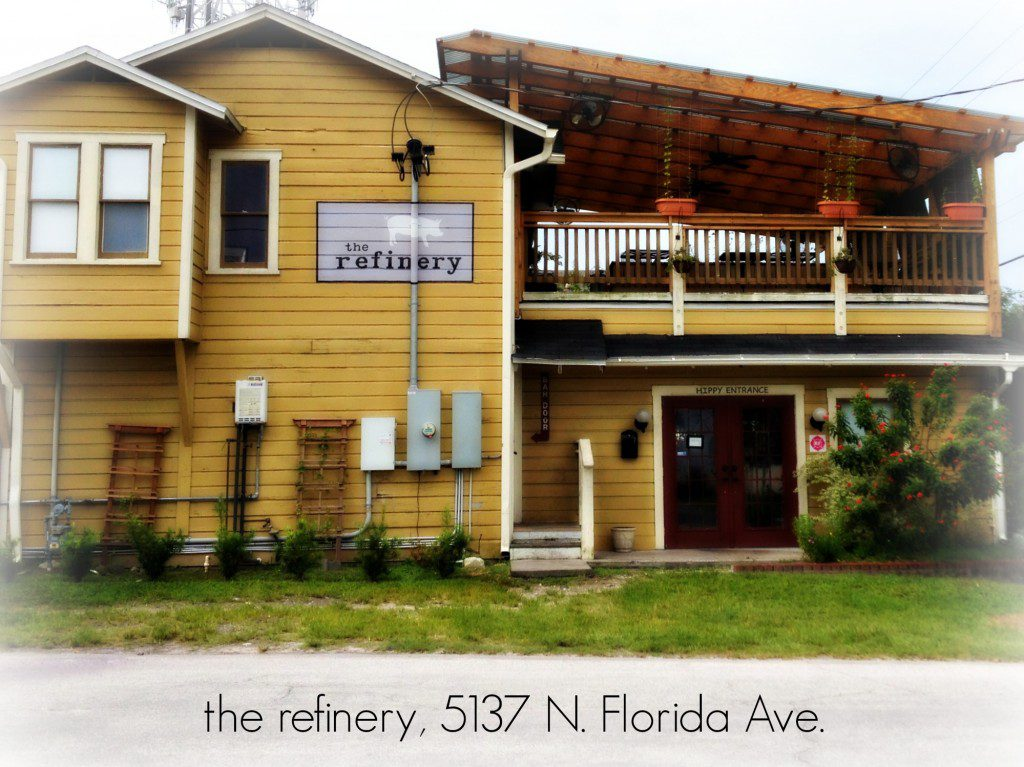the refinery Tampa