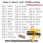 Back to School Photo-A-Day Challenge #TBBack2School with @TBMomsBlog