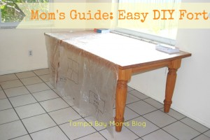 Mom's Guide DIY Fort