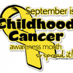 Let's Turn September Gold! September is Childhood Cancer Awareness Month