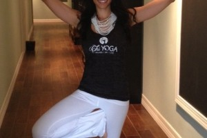 Local mom and business owner, Chi-Chi of Chi Yoga in Carrollwood