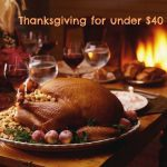 A Complete Thanksgiving Meal for 6 for Under $35