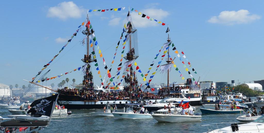 gasparilla boat invasion