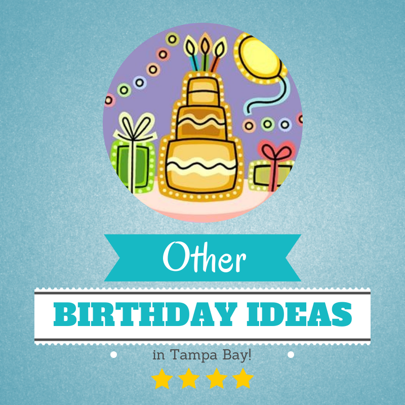 OTHER Birthday Party Ideas In Tampa Bay