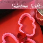 How to Make Salt Dough Valentine's Necklaces