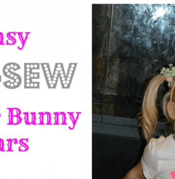 no sew easter bunny ears