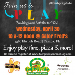 Join us for a Play Date at Gator Fred's