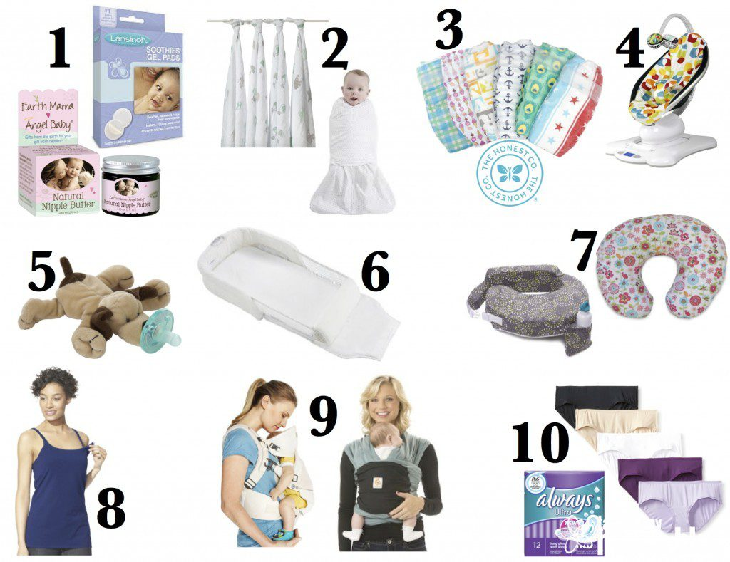 A New Mom's Top 10 Must-Haves for You and Baby