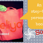 DIY Personalized Book Bag