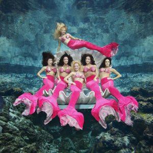 The famous Weeki Wachee mermaid show