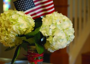 Utilize big blooms to create an impact for a fraction of the cost.