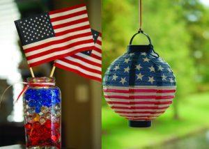 Dollar store finds: water bead vase & paper lantern!