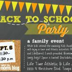 Join Us for a Back to School Party!