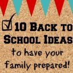 10 Ways to Get Prepared for School