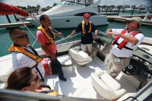 The Discover Boating Hands-On, On-the-Water workshops