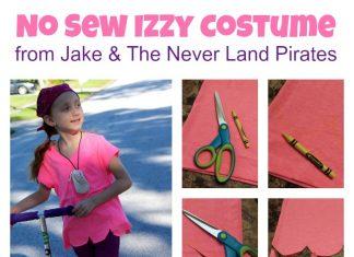 No Sew Izzy Costume