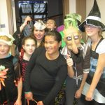 Halloween with Teens