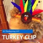 DIY – $5 Turkey Clip