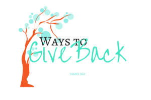Ways to Give Back