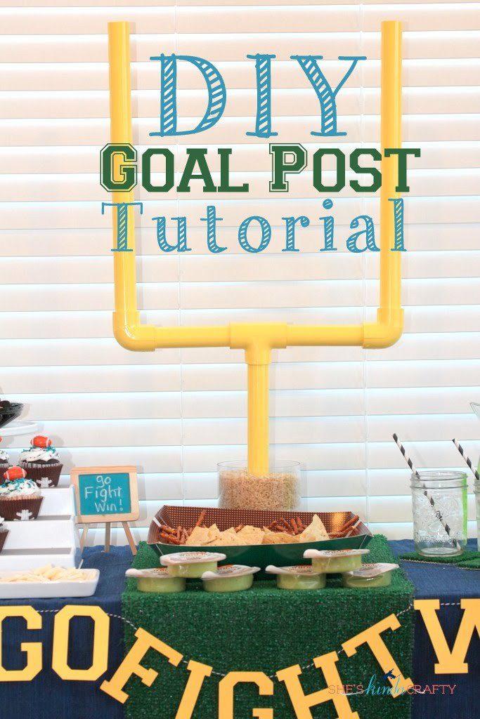 DIY Goal Post Tutorial
