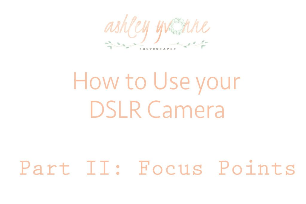 How to use dslr focus points