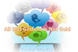 glistens