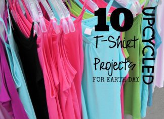 10 Upcycled TShirt Projects for Earth Day