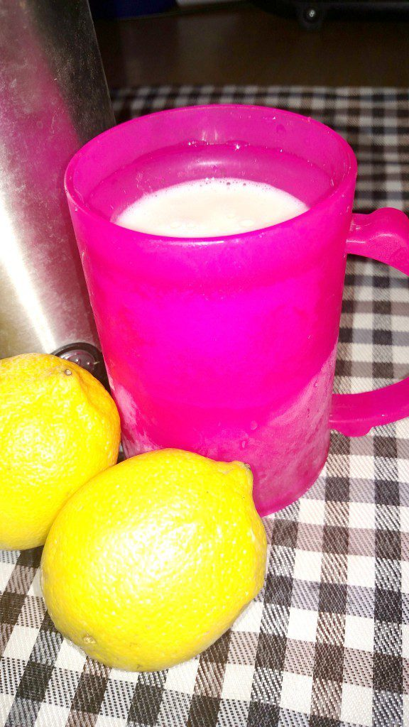 Copycat Frosted Lemonade