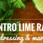 Cilantro Lime Ranch: Dip, Dressing & Marinade