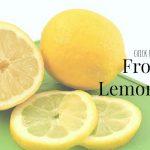 Kinda Copycat Frosted Lemonade
