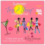 TBMB's Summer Sip and Shop at The Poppy Boutique {Event Recap}
