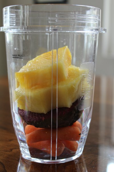 Beet Pineapple Smoothie