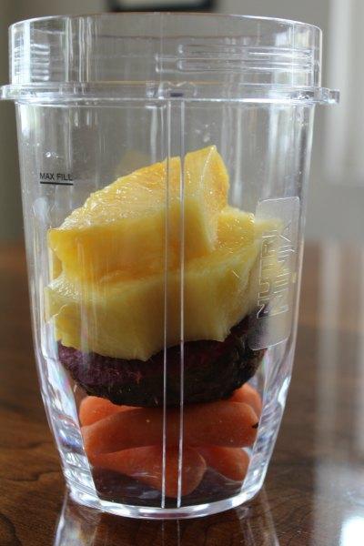 Beet Pineapple Smoothie