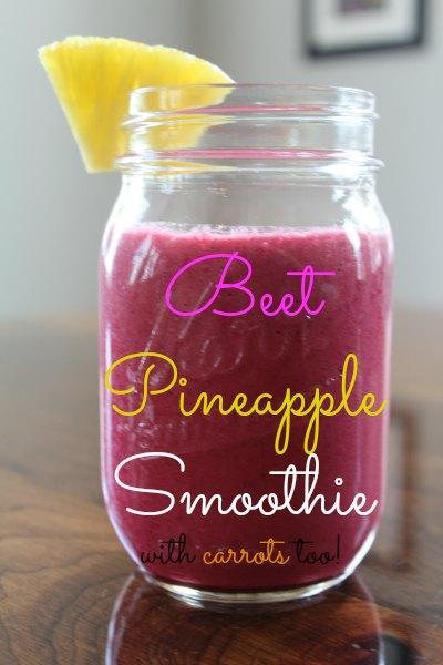 Beet Pineapple Smoothie Recipe