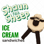 Shaun The Sheep Ice Cream Sandwiches