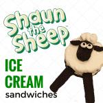 Shaun The Sheep Ice Cream Sandwiches
