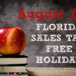 Celebrate Savings with Florida Tax-free Holiday Week Aug. 7-16