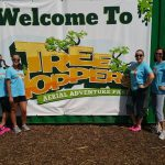 TreeHoppers Aerial Adventure Park {Sponsored Review}