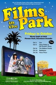 Dunedin Films in the Park