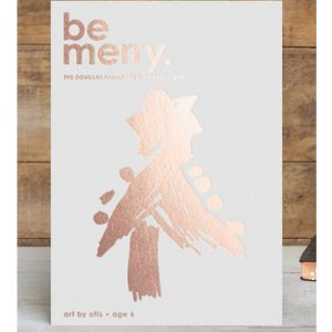 Cherry Merry Completely Custom Card, photo via Minted.com