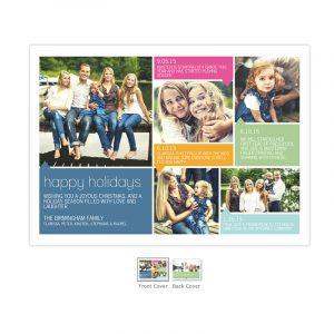 Colorblock Holiday Collage, photo via mixbox.com