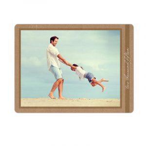 Recycled Photo Post Card, via storkie.com