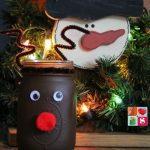 Rudolph The Reindeer Mason Jar Craft