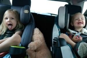 kids, car, commute, drive