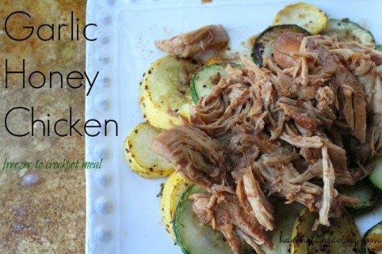 Garlic Honey Chicken Crock Pot Recipe