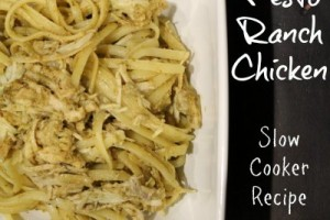 Pesto Ranch Chicken recipe